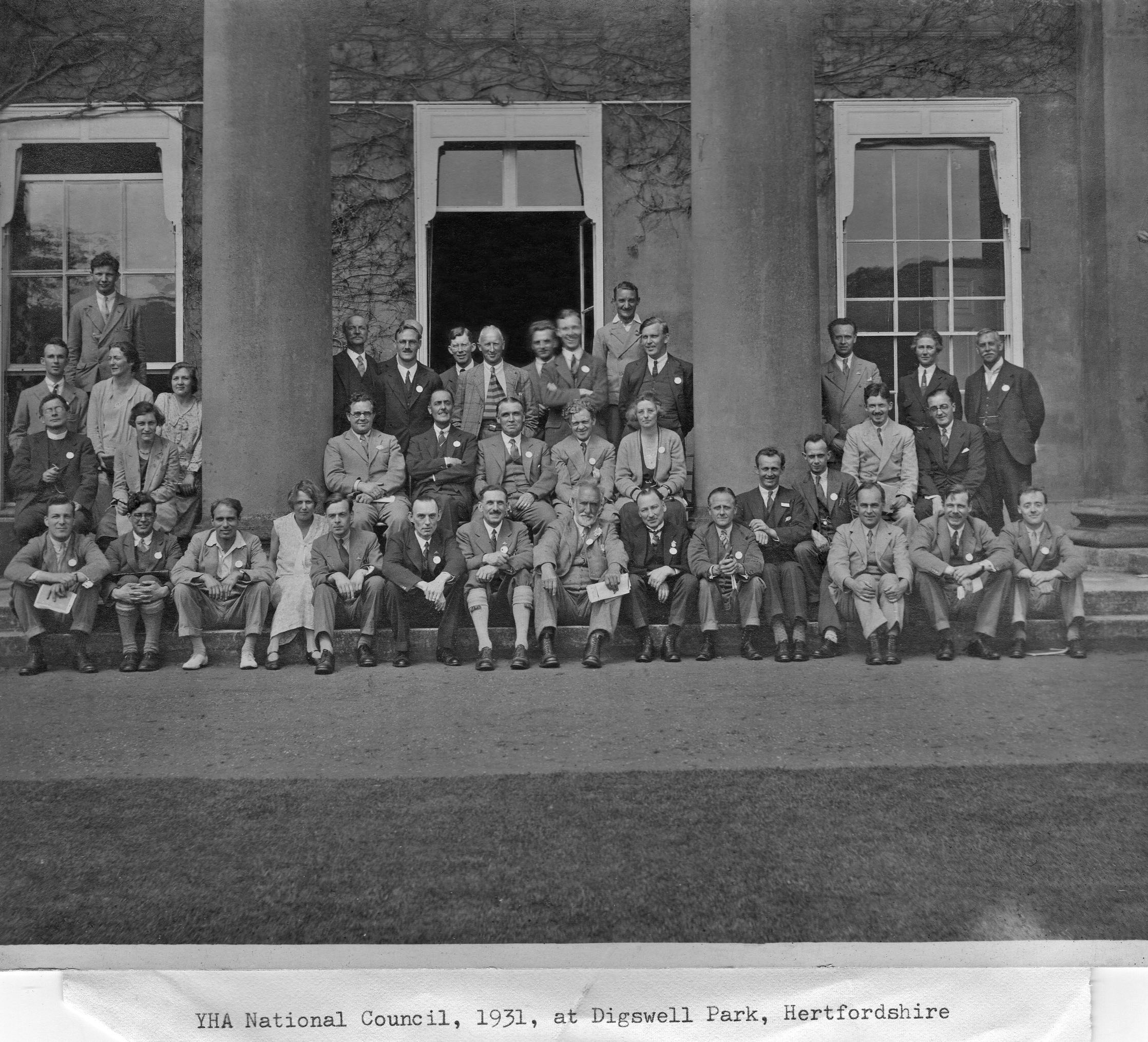 YHA Natiional Council 1932